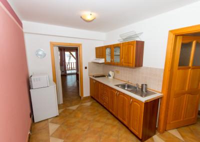 Apartmány U Jezera - kuchyně